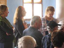 Greta With Israeli Group