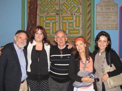 Our Team: Eitan Shiskoff, Evi, Pastor Niko, Greta, Anthi