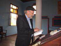 Eitan Reading Siddur