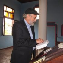 Eitan Reading Siddur